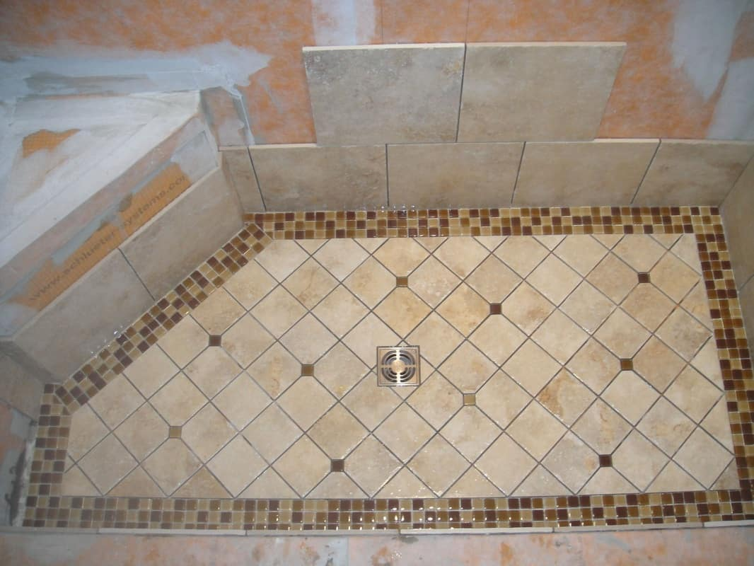 How To Tile A Shower Floor Design Contemporary Tile Design Ideas