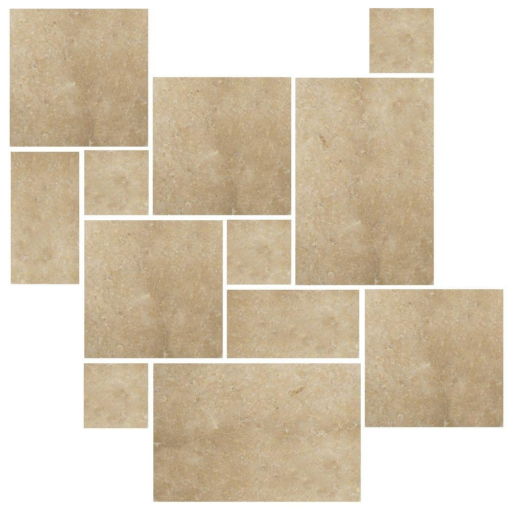 Limestone tile home design contemporary tile design ideas from limestone tile home design dailygadgetfo Choice Image