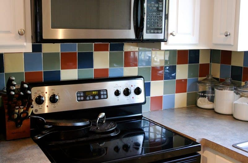 Paint For Tiles Photo