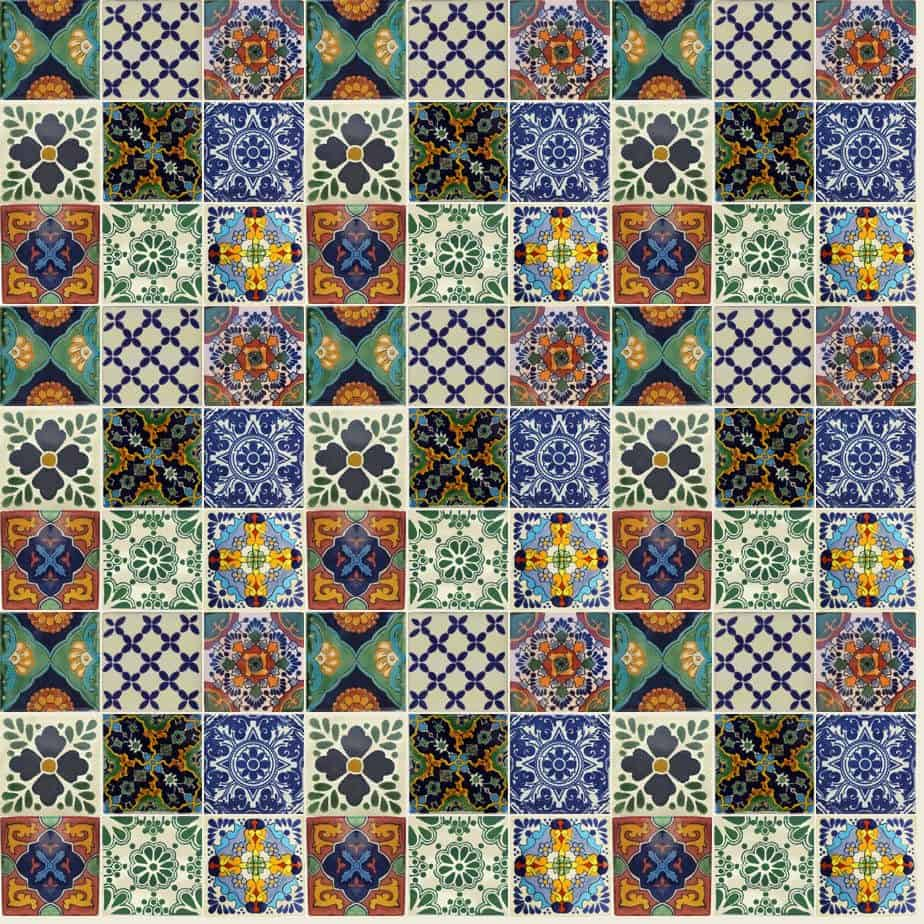 Patterned Tiles Interior Design-1