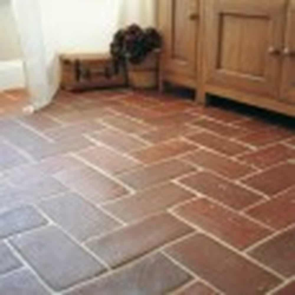 Terracotta tiles picture contemporary tile design ideas for Tiling kitchen floor
