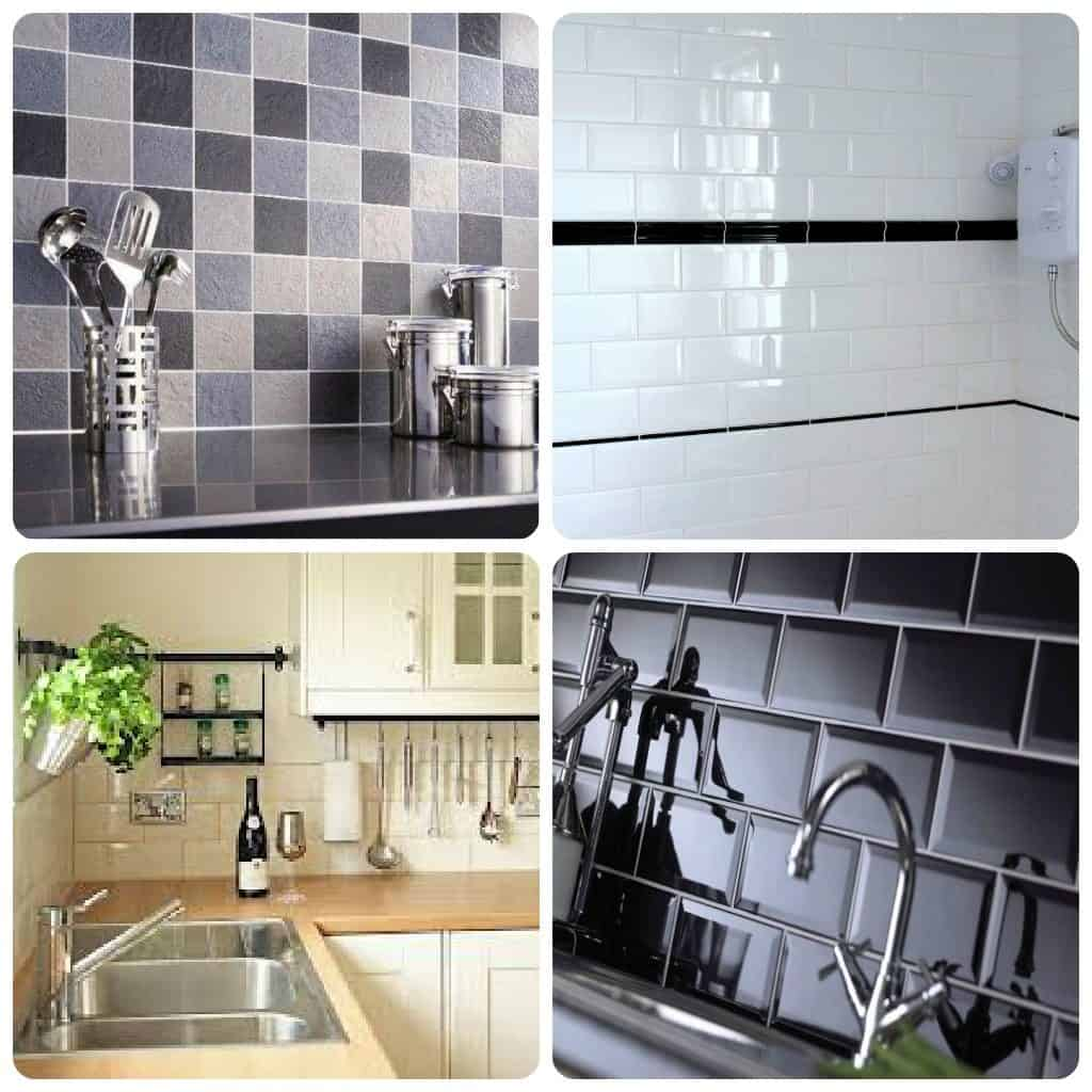 Charmant Tile Stickers Kitchen Interior Design
