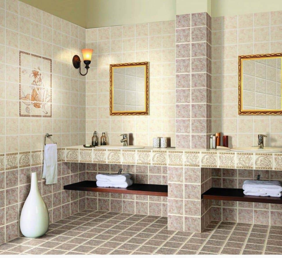 Bathroom Ceramic Tiles Home Design – Contemporary Tile Design ...