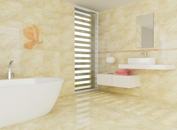 Bathroom Ceramic Tiles Style