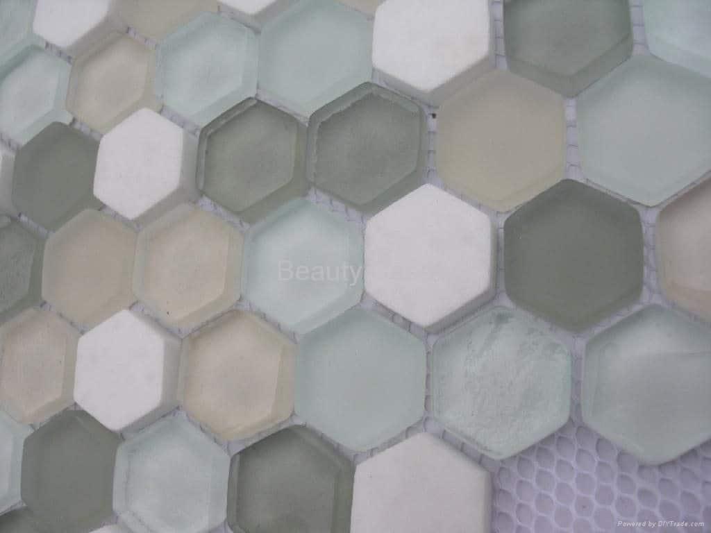 Hexagon Tile Interior Design-1