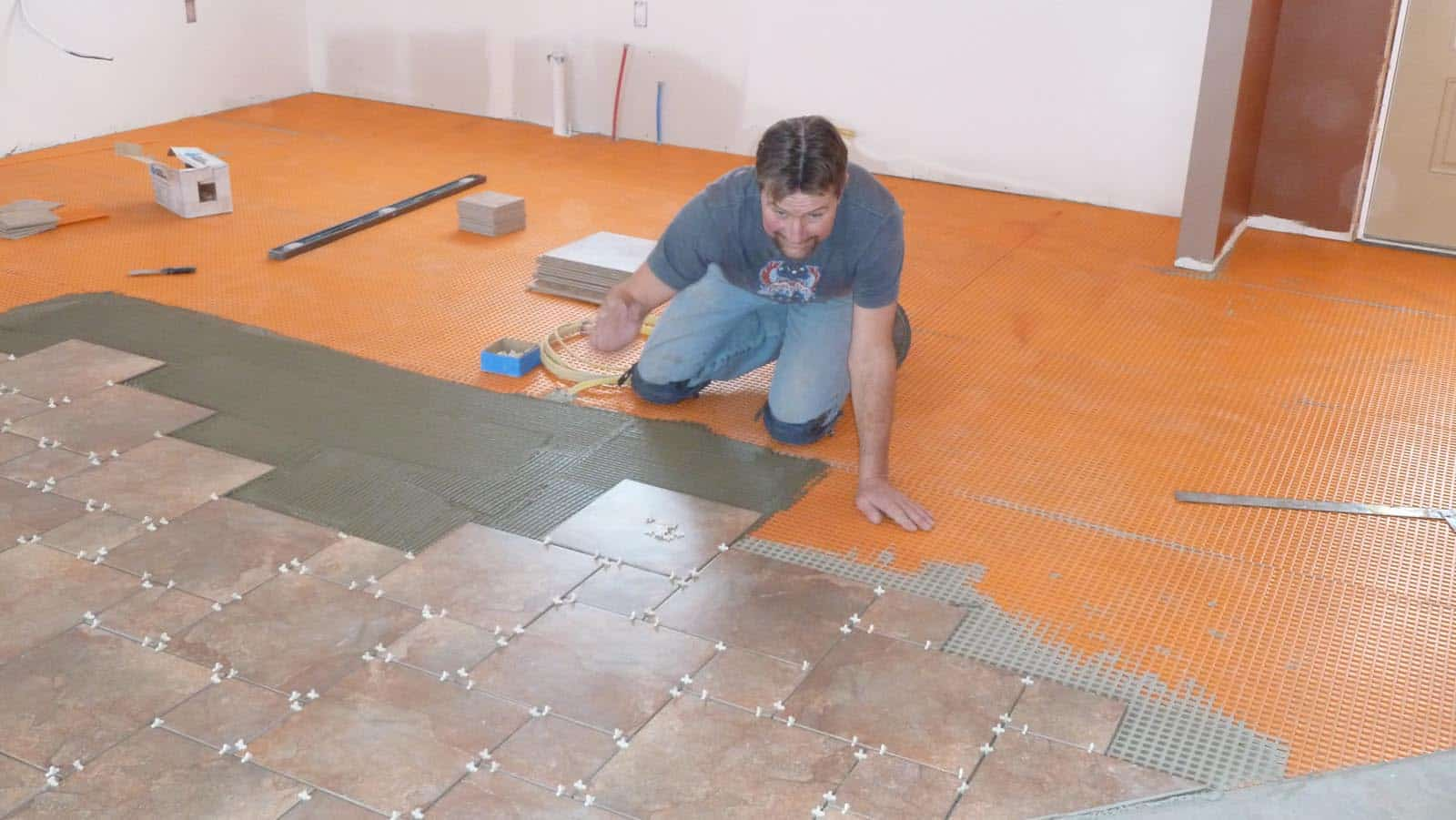 How To Install Tile Flooring Picture Contemporary Tile Design