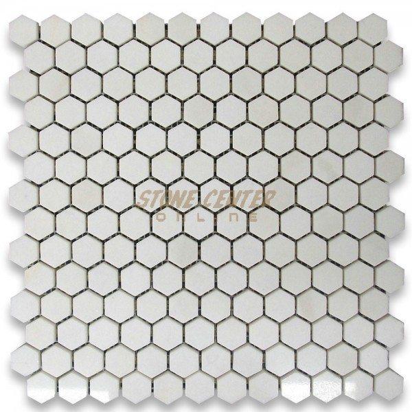 White Mosaic Tiles 2014