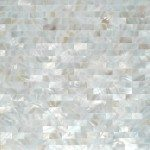 White Mosaic Tiles Design