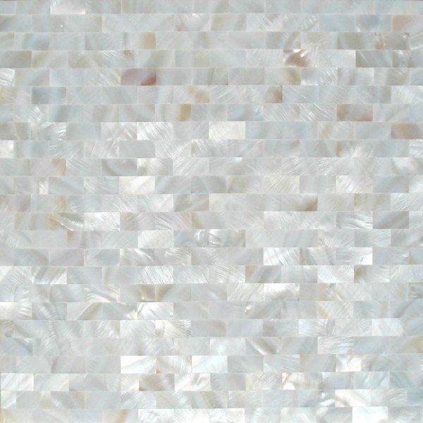 White Mosaic Tiles Design