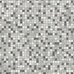 White Mosaic Tiles Picture