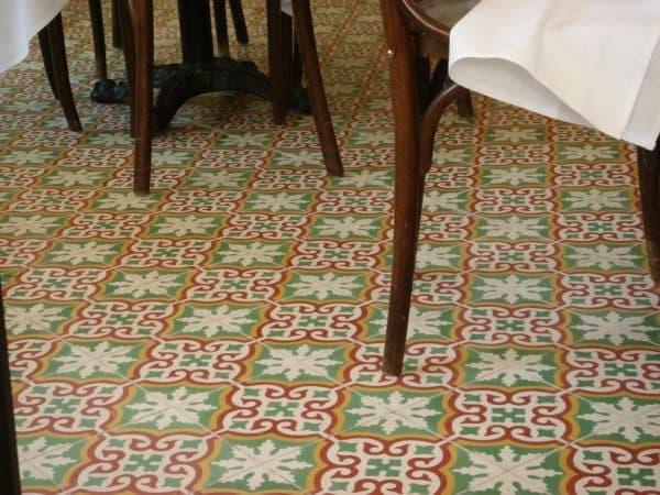 Encaustic Tiles Decoration