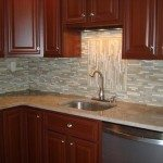 Glass Backsplash Tile Design