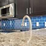 Glass Backsplash Tile Home Design