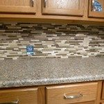 Glass Backsplash Tile Picture