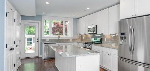 Glass Tiles Kitchen Example