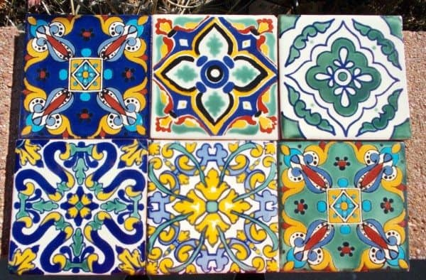 Hand Painted Tiles Home Design