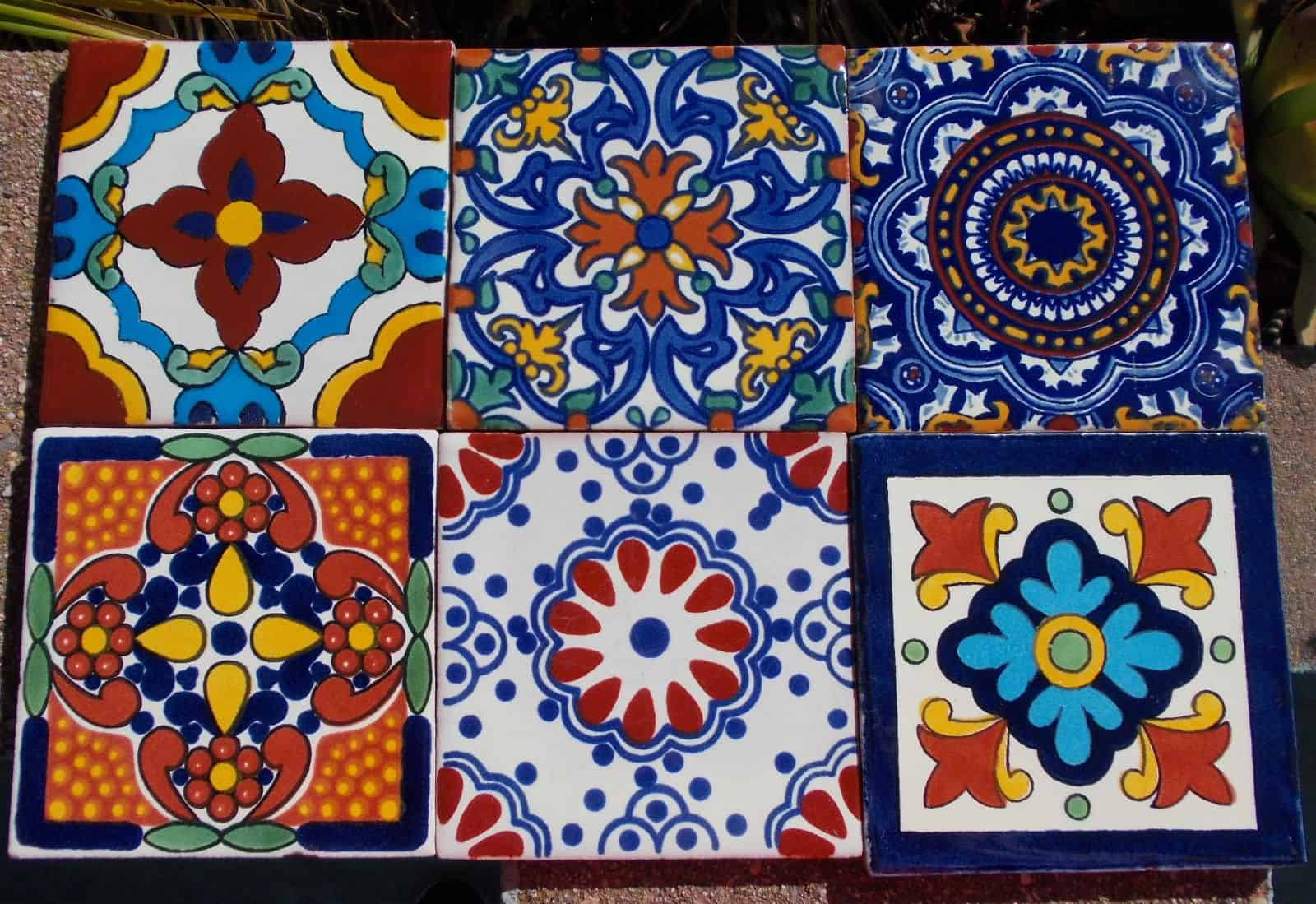 Hand Painted Tiles Photo