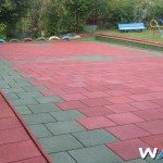 Outdoor Rubber Tiles Photo
