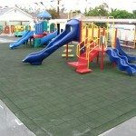 Outdoor Rubber Tiles Picture