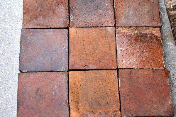 Quarry Tile Decoration