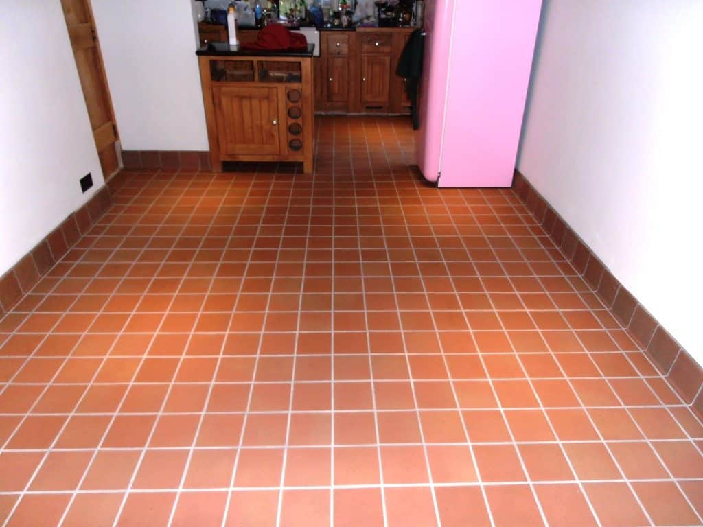 Quarry Tile Style Contemporary Tile Design Ideas From