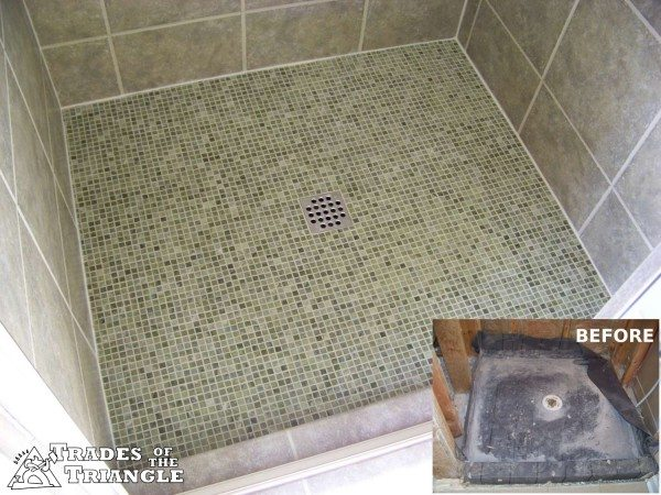 Tile Shower Pan Style