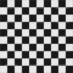 Black And White Floor Tiles Decoration
