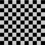 Black And White Floor Tiles Design