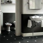 Black And White Floor Tiles Interior Design
