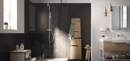 Black Bathroom Tiles 2014