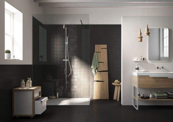 Black Bathroom Tiles 2014