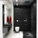 Black Bathroom Tiles Design