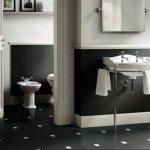 Black Bathroom Tiles Interior Design