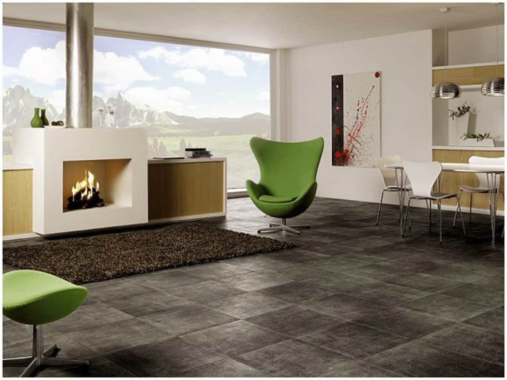 Ceramic Flooring Interior Design