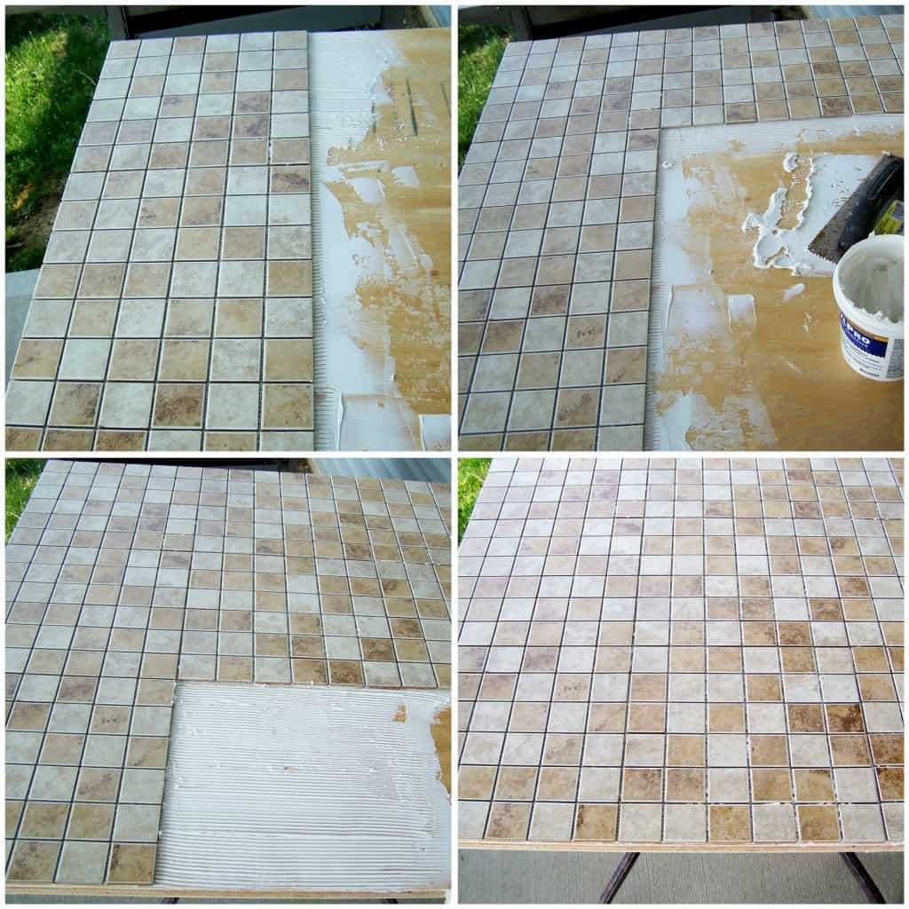 How To Lay Tile Example