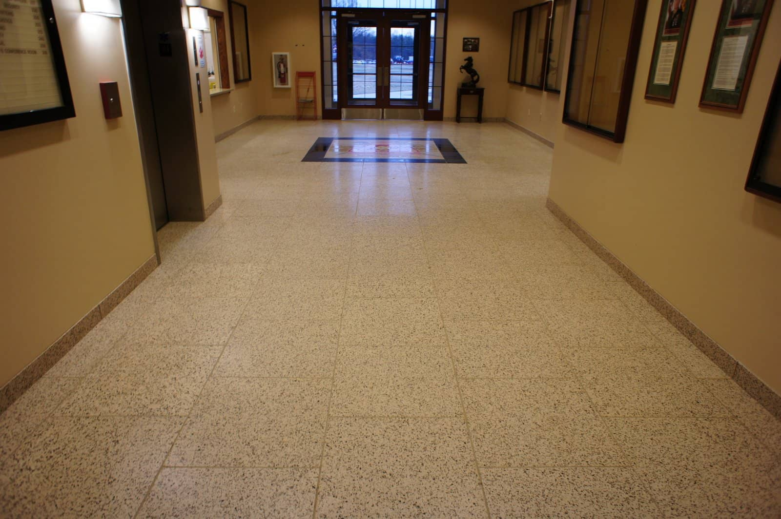 Terrazzo tile interior design contemporary tile design Interior tile floor designs