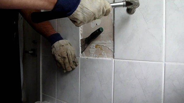 Tile Removal Picture