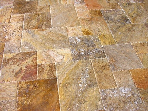 Travertine Floor Tiles Image