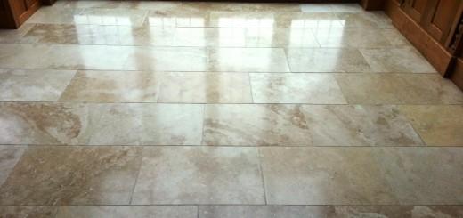 Travertine Floor Tiles Photo
