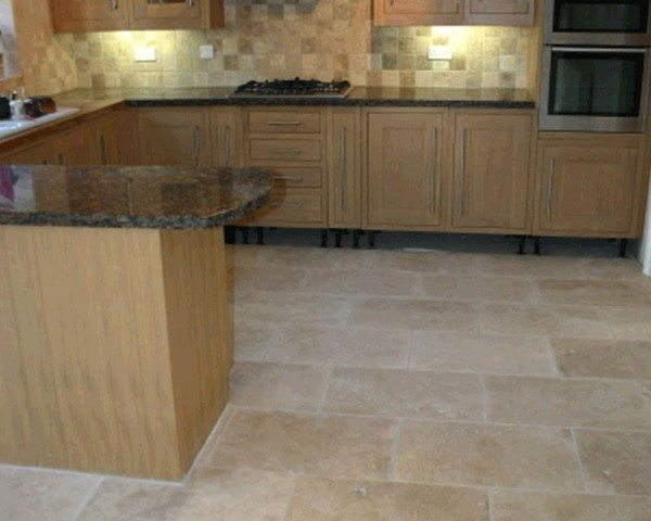 Travertine Floor Tiles Style