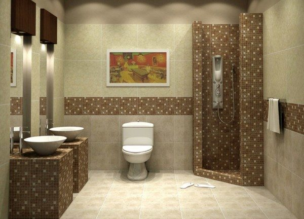 Bathroom Mosaic Tiles Design