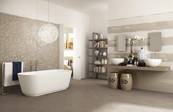 Bathroom Mosaic Tiles Image