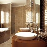 Bathroom Mosaic Tiles Interior Design