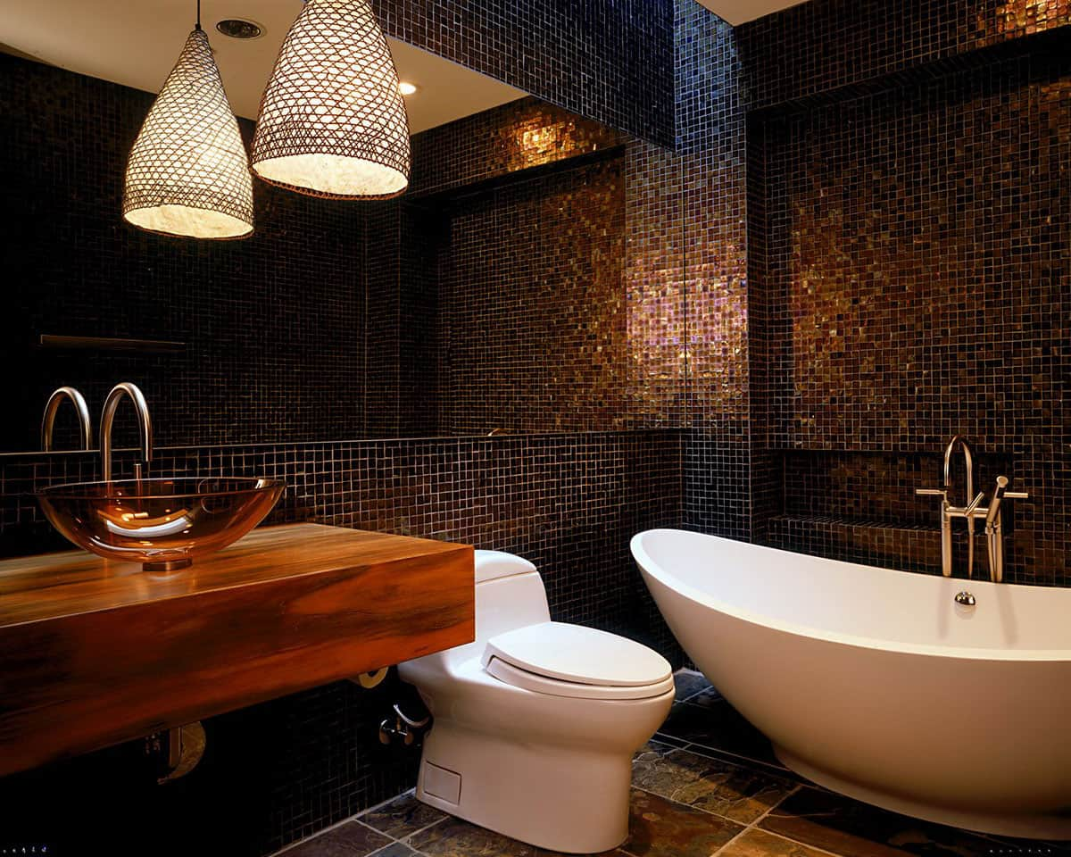 Bathroom Mosaic Tiles Picture – Contemporary Tile Design Ideas From ...