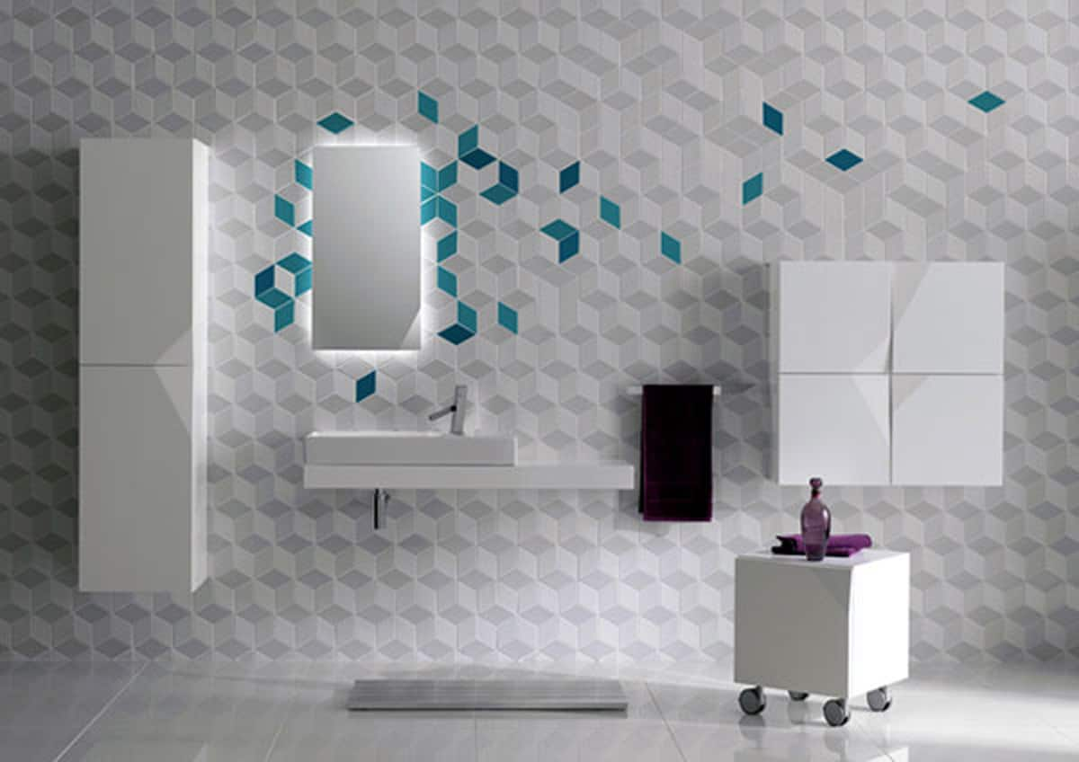 Bathroom tile design - 50 contemporary examples