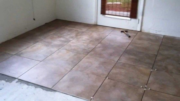 Laying Floor Tiles Home Design