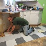 Laying Floor Tiles Picture