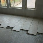 Laying Floor Tiles Style