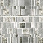 Recycled Glass Tile Decoration