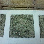 Recycled Glass Tile Example